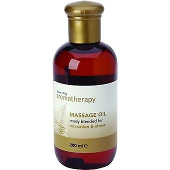 Natures Way Aromatherapy Massage Oil Relaxation & Stress 200ml
