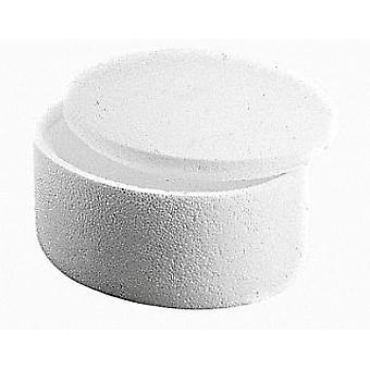 14,5 cm Runde Polystyrol-Box mit Deckel zu dekorieren | Styroporformen für das Handwerk