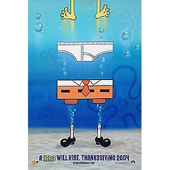 Spongebob Squarepants Movie (dubbelsidig Advance) original Cinema affisch