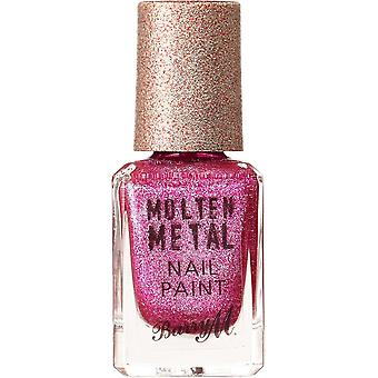 Barry M Molten Metal Nail Polish Collection - Fuchsia Kiss (MTNP19) 10ml
