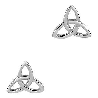 Celtic Holy Trinity Knot stud par örhängen