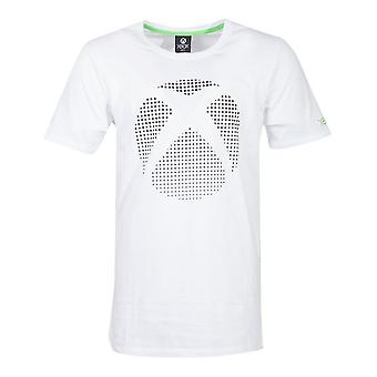 Microsoft Xbox dot logo T-shirt mannelijk X-Large Wit (TS174250XBX-XL)