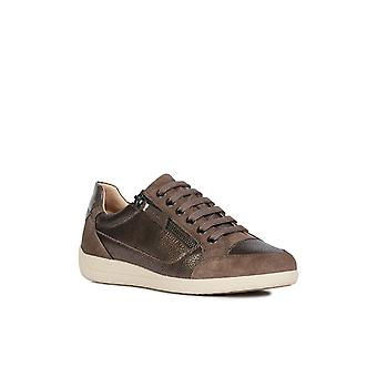 Geox Womens D Myria A Lace Up Trainers