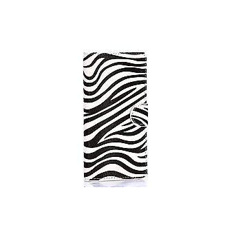 Case For Samsung Galaxy A7 Black And White Zebra Pattern