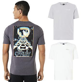 Oakley miesten hämärtää mainonta puuvilla lyhythihainen T-paita