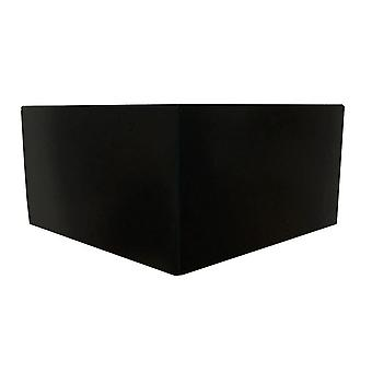 Black Wooden Corner Furniture leg 10 cm