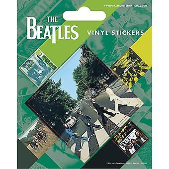 The Beatles Abbey Road Stickers