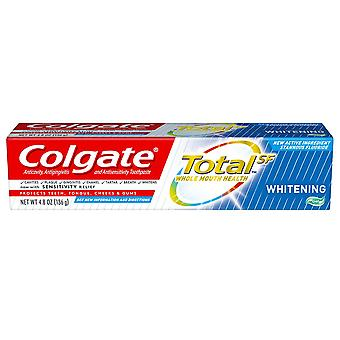 Colgate total sf toothpaste, whitening, gel, 4.8 oz