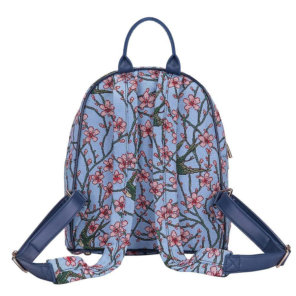 Almond blossom and swallow daypack  by signare tapestry / dapk-blos