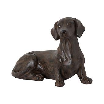 Hill Interiors Ernie The Sausage Dog Sitting Ornament