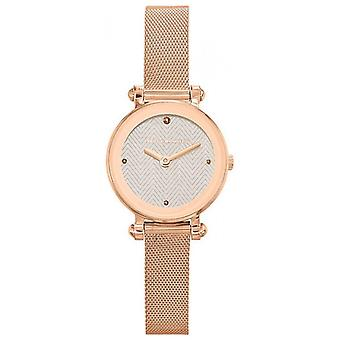 Ted Lapidus SIGNATURE A0680UBPXX Watch - Milanese Ros e Women's Maille Watch