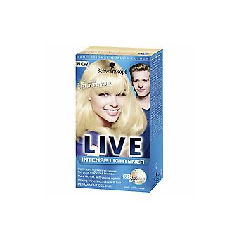Schwarzkopf Live Intense Lightener - Absolute Platinum 00A