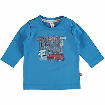 Newborn Jongens T Shirt Cruisin La Babyface