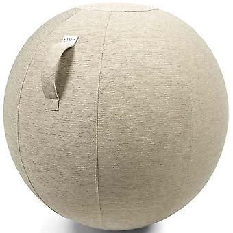 Vluv zespołów tkaniny siedzenia kulkowe średnica 60-65 cm Pebble jasny beż