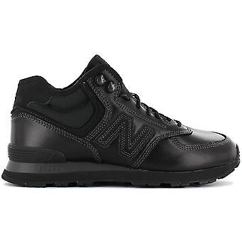 New Balance MH574OAC MH574 Leder Herren Winter Schuhe Schwarz Sneaker Sportschuhe