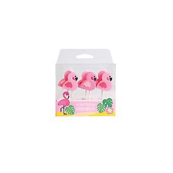 Culpitt Flamingo stearinlys-6 PCE