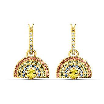 Swarovski Ohrringe 5537494 - M tal gold Kristalle licht Damen Ohrringe