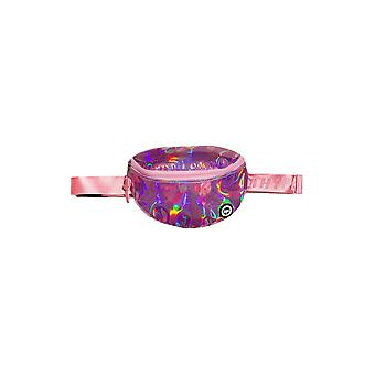 Hype Pink Holographic Bumbag