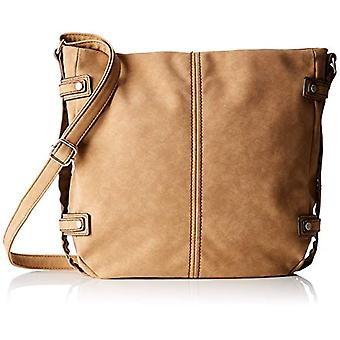 s.Oliver (Bags) Shoulder Bag - Brown Woman Shoulder Bags (Cashew Brown) 7x31x29 cm (B x H T)