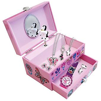 Scout Kids Jewelry Box with Music Box Girl Pink 210000001