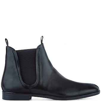 Mens H By Hudson Atherstone Leather Work Office Smart Chelsea Ankle Boot