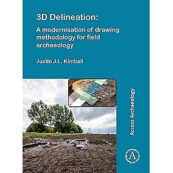 3D Darstellung: eine Modernisierung des Zeichnens Methodik für Feldarchäologie