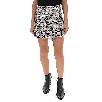 Isabel Marant ÉToile Ju112920p029e23ec Women's Multicolor Cotton Skirt