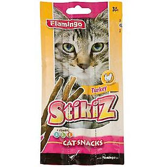 Flamingo Soft Chicken Sticks For Cat (3 pcs) (Cats , Treats , Chewy & Softer Treats )