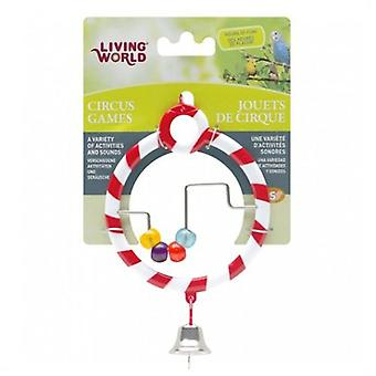 Living World Circus Red Abacus (Birds , Bird Cage Accessories , Mirrors)