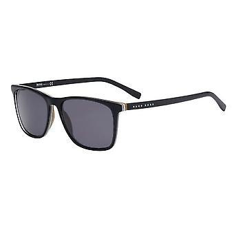 Hugo Boss 0760/S QHI/Y1 Musta/Harmaa aurinkolasit