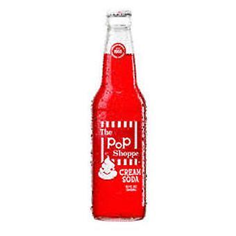Pop Shoppe Red Cream Soda-( 355 Ml X 12 Cans )