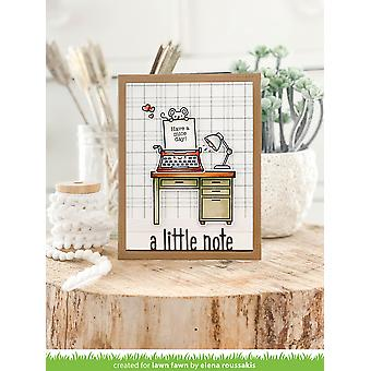 Lawn Fawn A Little Note Line Border Dies