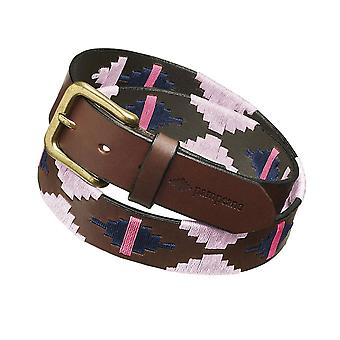 Pampeano Leather Rosa Polo Belt