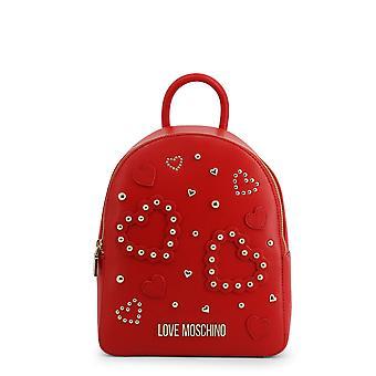Love Moschino Original Women Spring/Summer Backpack/Rucksack Red Color - 70922