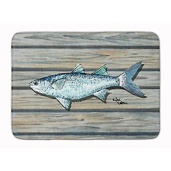 Carolines trésors 8490-tapis poisson mulet Machine tapis de mousse de mémoire lavable