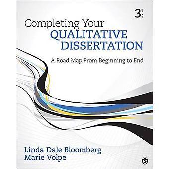 Fullfører din kvalitativ avhandling et veikart fra begynnelse til slutt av Bloomberg & Linda Dale