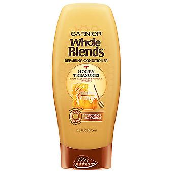 Garnier whole blends repairing conditioner honey treasures, 12.5 oz