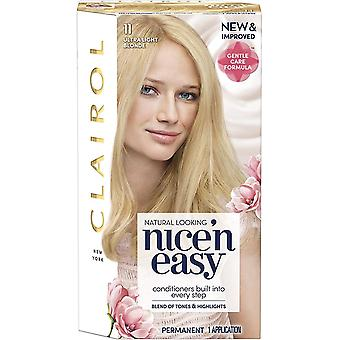 Clairol Nice 'n Easy Permanent Hair Dye Number 11, Ultra Light Blonde