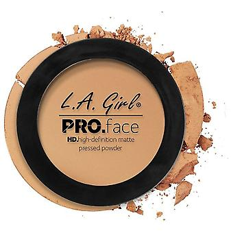L.A. Girl Pressed Powder Medium Beige Mate HD PRO