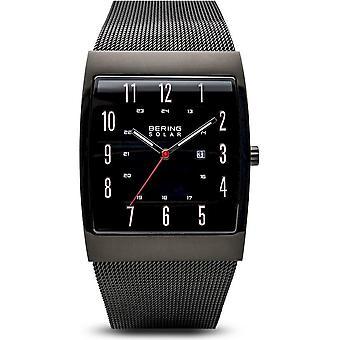 Bering - Armbanduhr - Herren - Solar - schwarz glänzend - 16433-122