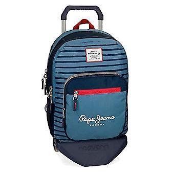 Pepe Jeans Yarrow rugzak 44 centimeter 19,8 blauw (Azul) 63324N1