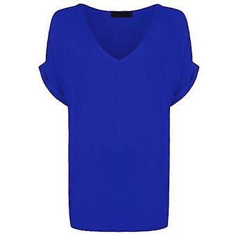Re Tech UK - Ladies Oversized Turn Up Sleeve T-Shirt
