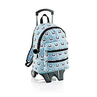 Miquelrius Panda Backpack Casual - 42 cm - 2 liters - Blue (Azul celestial)