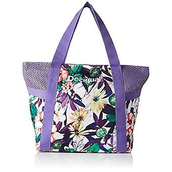 Desigual BOLS_L SHOPPING Purple Women's Shoulder Bags (3168 PURPLE OPULENCE) 13x34x45cm (B x H x T)