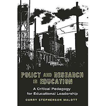 Política e pesquisa em educação: uma pedagogia crítica para a liderança de Ed, Vol. 4