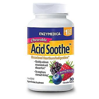 Enzymedica Acid Soothe Chewable Tabs 30 (27012)
