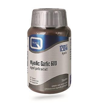 Quest Vitamins Kyolic Garlic Extract 600mg Tabs 120 (601919)