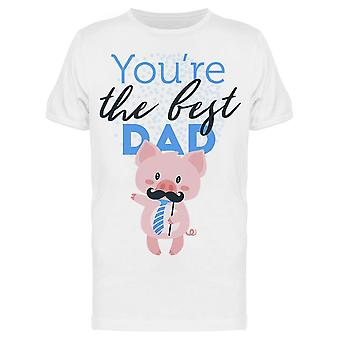 You Are The Best Pig Tee Men's -Image by Shutterstock