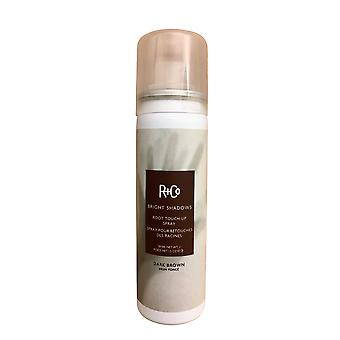 R+Co Bright Shadows Root Touch Up Spray Dark Brown 1. 5 OZ