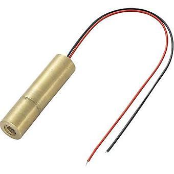 وحدة ليزر TRU COMPONENTS Dot Green 1 mW LM01GND